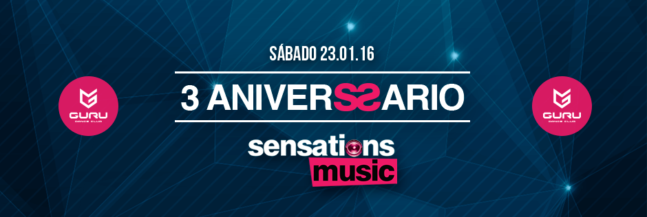 Discoteca Guru Dance Club Murcia - Slide 3 Aniversario Sensations Music