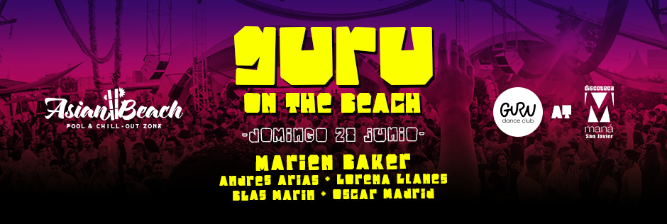 Discoteca Guru Dance Club Murcia - Slide Guru On The Beach