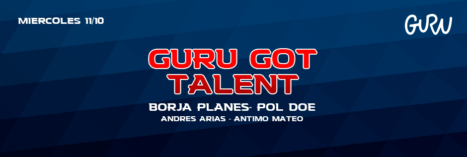 Discoteca Guru Dance Club Murcia - Slide Guru Got Talent (2ª Edición)