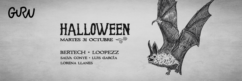 Discoteca Guru Dance Club Murcia - Slide Halloween 2017