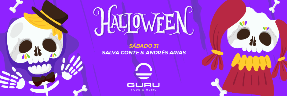 Discoteca Guru Dance Club Murcia - Slide Halloween 2020
