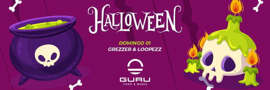 Discoteca Guru Dance Club Murcia - Slide Halloween Sunday