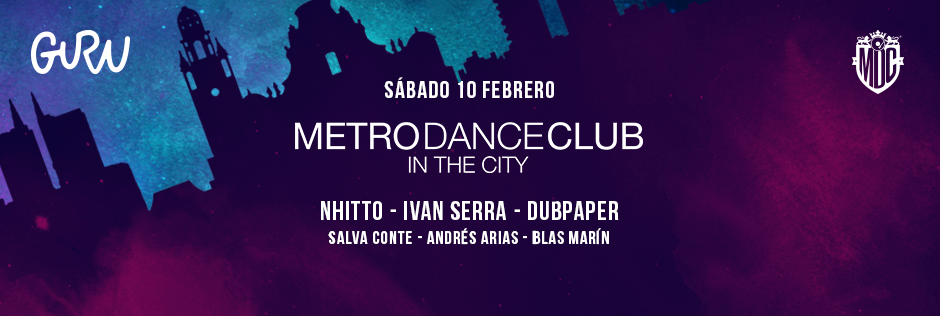 Discoteca Guru Dance Club Murcia - Slide Metro in the city