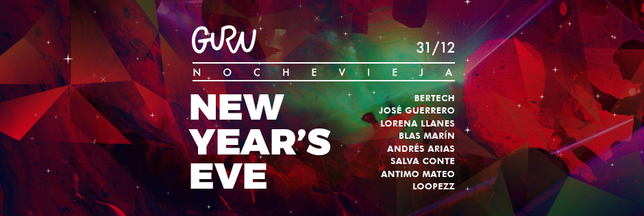 Discoteca Guru Dance Club Murcia - Slide New Year´s Eve - Nochevieja