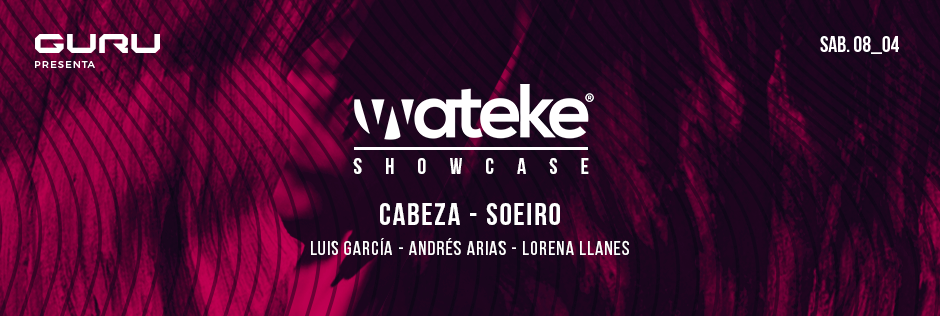 Discoteca Guru Dance Club Murcia - Slide Wateke Showcase
